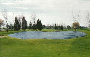 toile pour terrain de golf