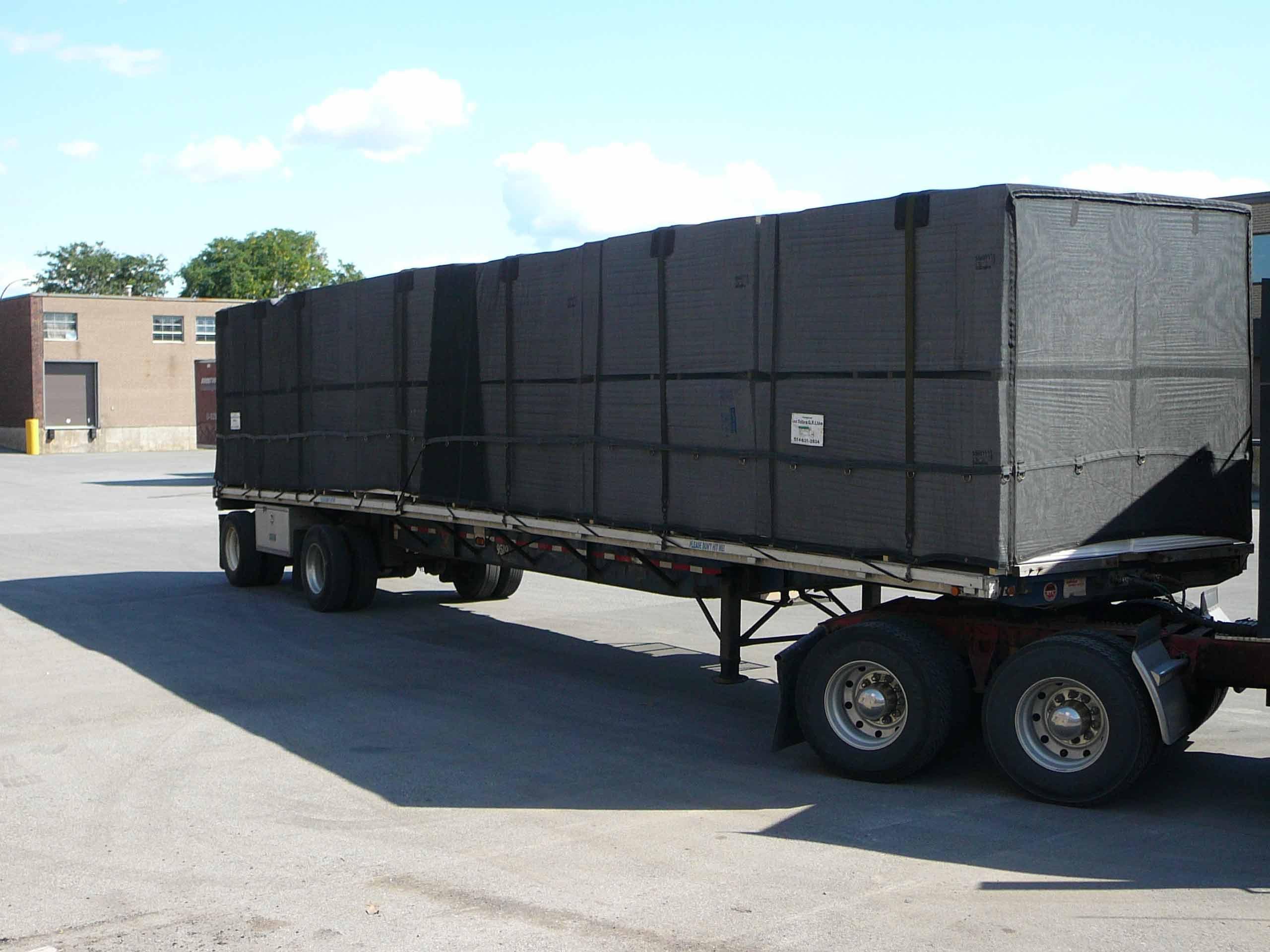 toile camion en filet